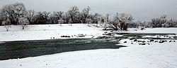 Rio Vermelho do Norte em Fargo, ND.jpg