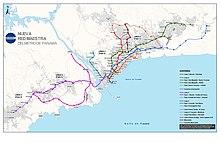 Panama Subway Map.Panama Metro Wikipedia