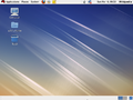 Redhat EL 5 default desktop.png