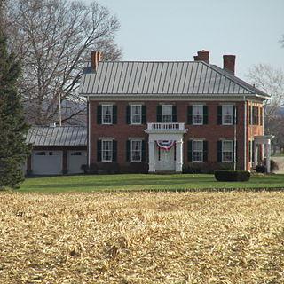 Redlands (Circleville, Ohio) building in Ohio, United States
