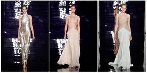 Reem Acra - Reem Acra's designs on the runway.
