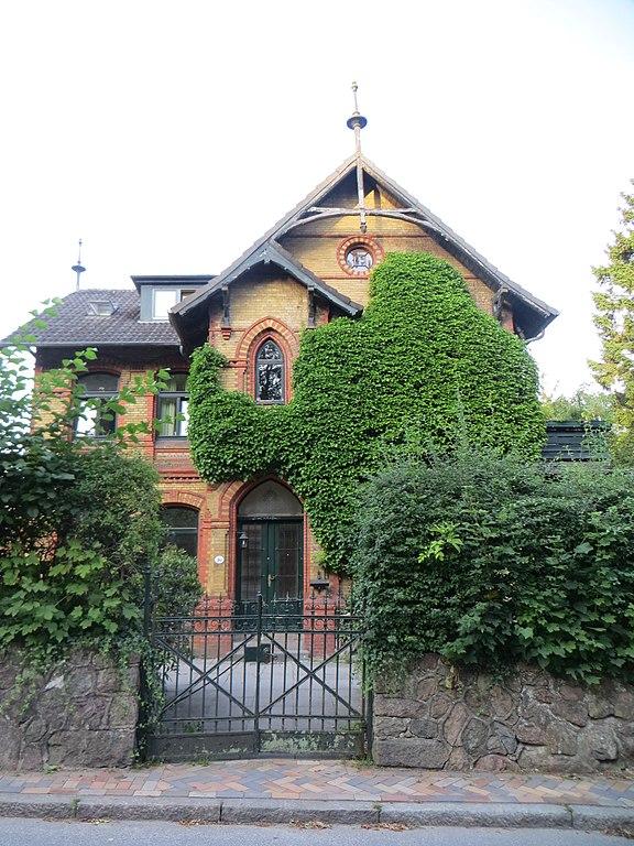 file reepschl gerbahn 30 villa neben dem hans christiansen haus jpg wikimedia commons. Black Bedroom Furniture Sets. Home Design Ideas
