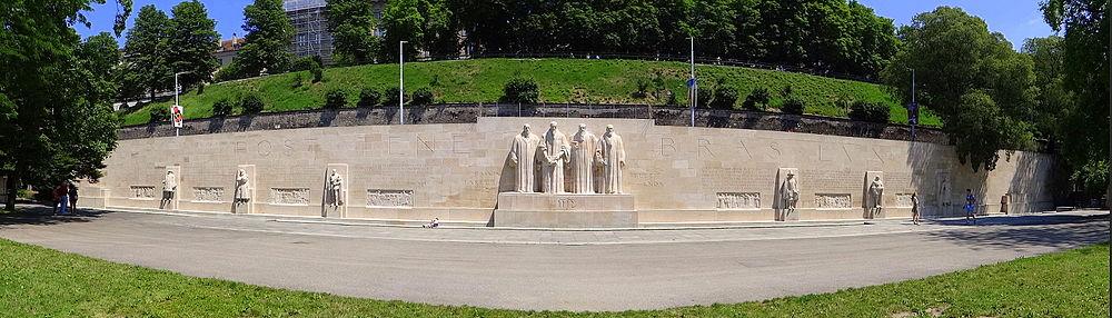 Vista panorámica del monumento (fotografía de julio de 2013).