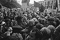 Regering demonstreert tegen doodvonnissen in Spanje in Utrecht overzicht demons, Bestanddeelnr 928-1746.jpg