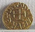 Regno longobardo di tuscia, emissione aurea di aistolfo, zecca di lucca, 749-756, 01.JPG