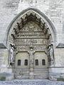 Reims (51) Cathédrale N.D. Façade nord 05.JPG