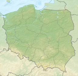 Situo de Szczecin enkadre de Pollando