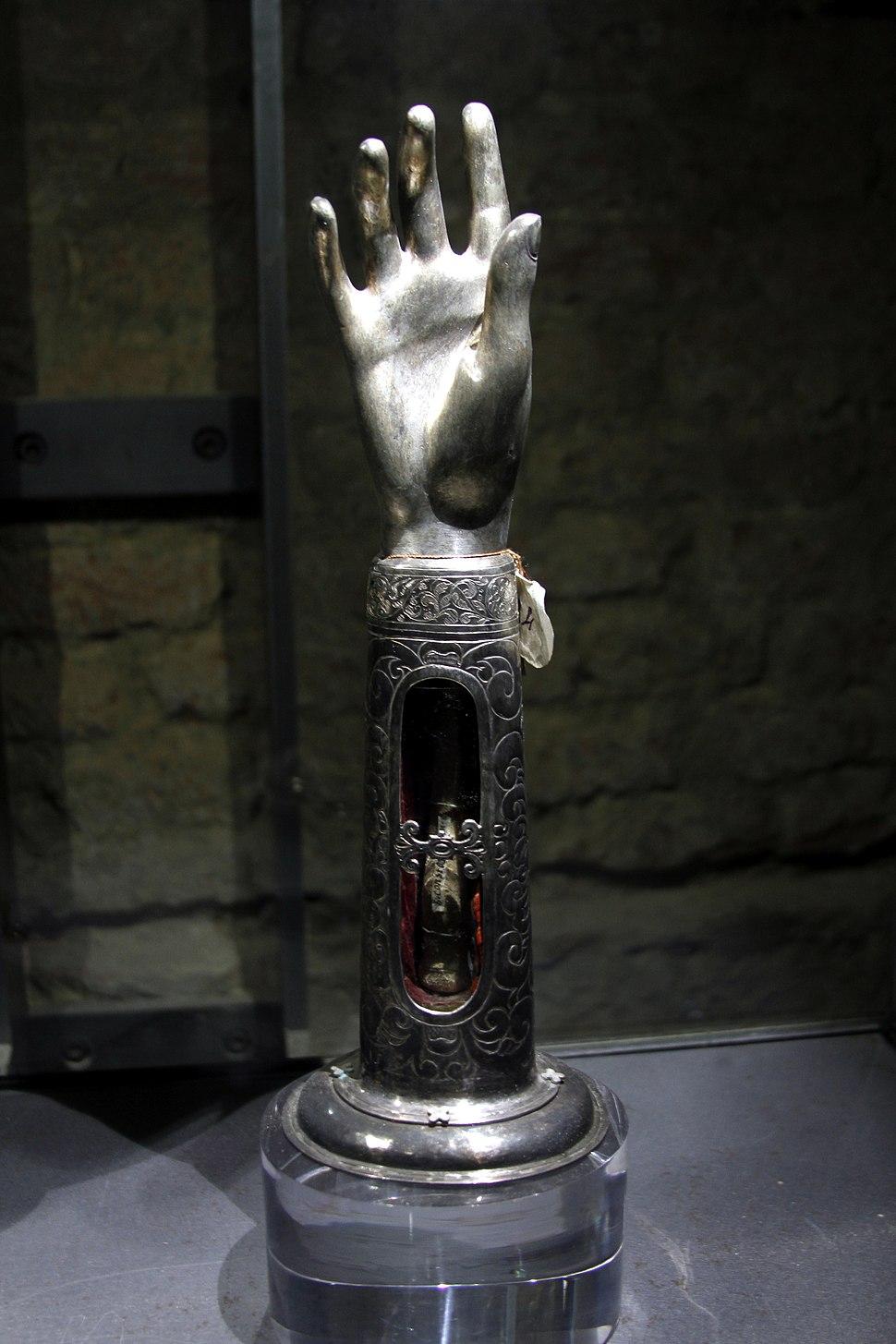 Reliquary of St. Costanza (17th-cent.) - Santa Maria della Scalla - Siena 2016