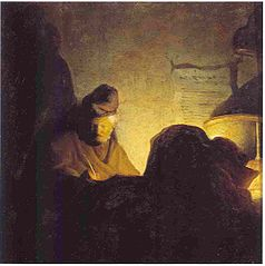 A Writing Philosopher by Candlelight (Bredius 425)
