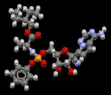 Remdesivir-from-xtal-Mercury-3D-piłka-i-kij-z-bond-zamówienia.png
