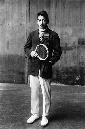 René Lacoste - Lacoste in 1922