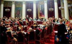 State councilby Iliya Repin