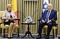 Reuven Rivlin at a meeting with Viorica Dăncilă, April 2018 (3609).jpg