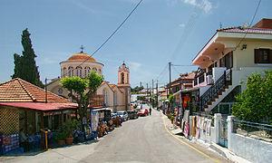 Attavyros (municipality) - View of Siana