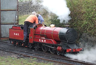 Rhyl Miniature Railway - Joan is one of the original Rhyl Engines