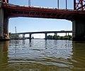 Riachuelo, Nuevo Puente Nicolás Avellaneda, puente autopista Buenos Aires La Plata.jpg