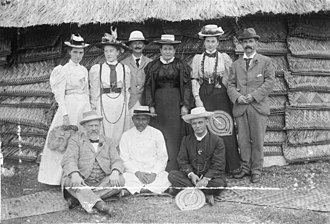 Richard Seddon - Richard John Seddon and party in Samoa, 1897