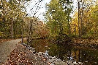 Ridley Creek State Park - Ridley Creek as seen on an autumn day