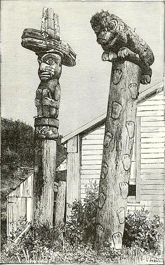 Wrangell, Alaska - Totem poles in Wrangell