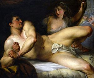 John Francis Rigaud - Samson Breaking his Bands (1784)
