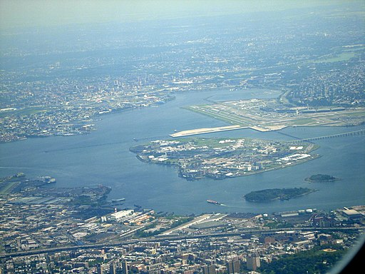 Rikers Island from the air