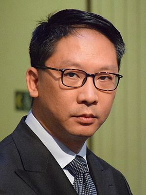 Secretary for Justice (Hong Kong) - Image: Rimsky Yuen 2016
