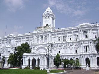 Greater Chennai Corporation - Image: Ripon Building Chennai