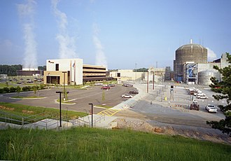 River Bend Nuclear Generating Station - Image: River Bend Nuclear Station, Unit 1 (32540002895)