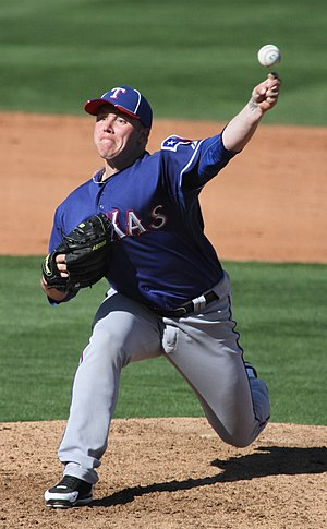Robbie Ross Jr. - Ross during his tenure with the Texas Rangers in 2012 spring training