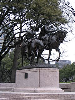 <i>Robert E. Lee on Traveller</i> Sculpture by Alexander Phimister Proctor