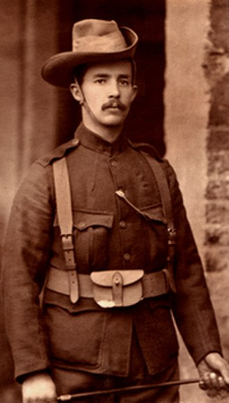 Robert Erskine Childers - Childers in uniform of the City Imperial Volunteers (CIV), 1899