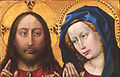 Robert Campin, also called the Master of Flémalle, Netherlandish (active Tournai), first documented 1406, died 1444 - Christ and the Virgin - Google Art Project.jpg