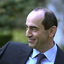 Robert Kocharyan, second President of Armenia, 2006 01.jpg