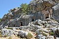 Rock-Cut Tombs, Necropolis of Canytelis, Cilicia, Turkey (25505532248).jpg