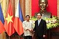 Rodrigo Duterte with Trần Đại Quang 092916.jpg