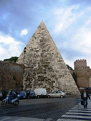Pyramid of Cestius.