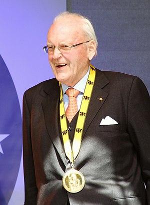 Landshut - Roman Herzog, Karlspreis 2012 (Charlemagne prize)