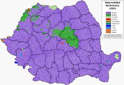 Romania harta etnica 1992.PNG