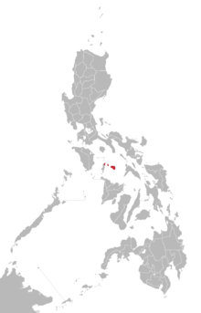 Romblomanon language map.png