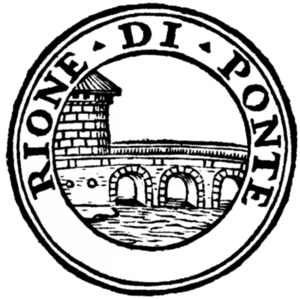 Ponte (rione of Rome) - Logo of the rione