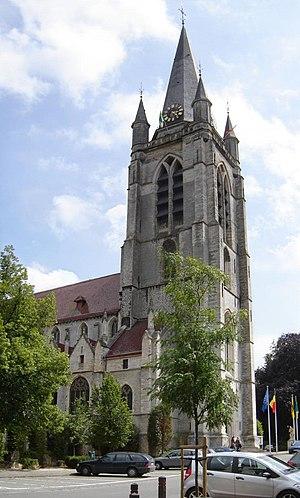 Church of Saint Hermes in Ronse, East Flanders...