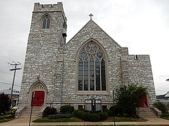 Laureldale, Pennsylvania - Rosedale United Church (1928).