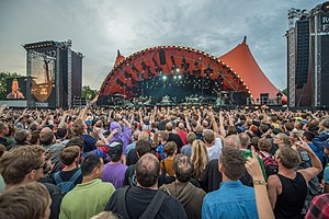 Roskilde Festival - Image: Roskilde Festival Orange Stage Bruce Springsteen