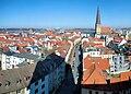 Rostock Panorama Nikolaikirche nach Norden 2011-03-08.jpg