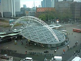 Rotterdam Blaak station - Image: Rotterdam Blaak