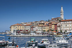 Rovinj/Rovigno, seen from the harbour