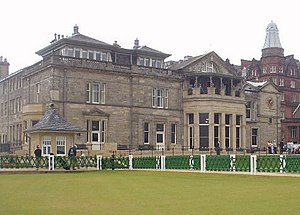 The Royal and Ancient Golf Club of St Andrews - Image: Royal & Ancient Clubhouse