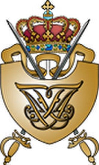 Royal Danish Military Academy - Image: Royal Danish Military Academy crest