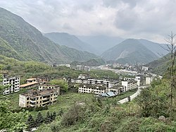 Ruin site of Beichuan County, Sichuan Province, China 02.jpg