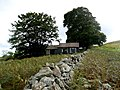 Ruined holiday chalet south of Humbleton - geograph.org.uk - 1509289.jpg